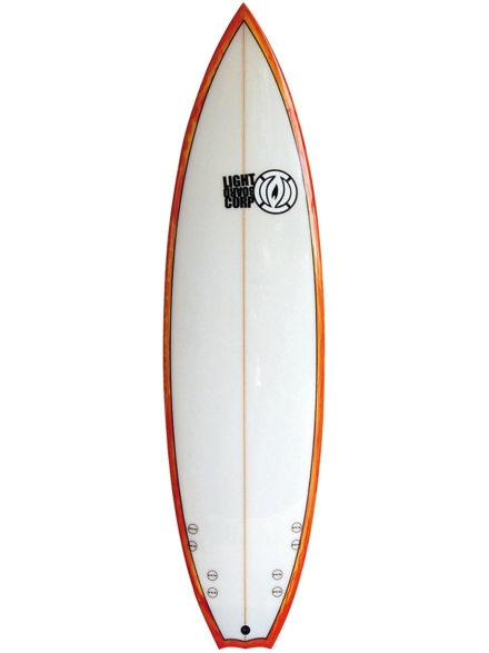 Light Quad Performance Shortboard 6'5 patroon