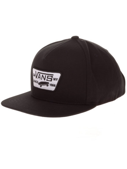 Vans Full Patch Snapback petje zwart