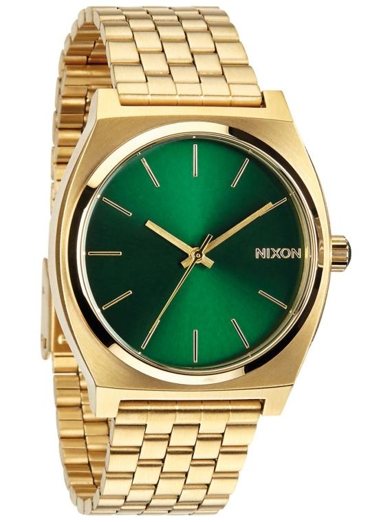 Nixon The Time Teller geel