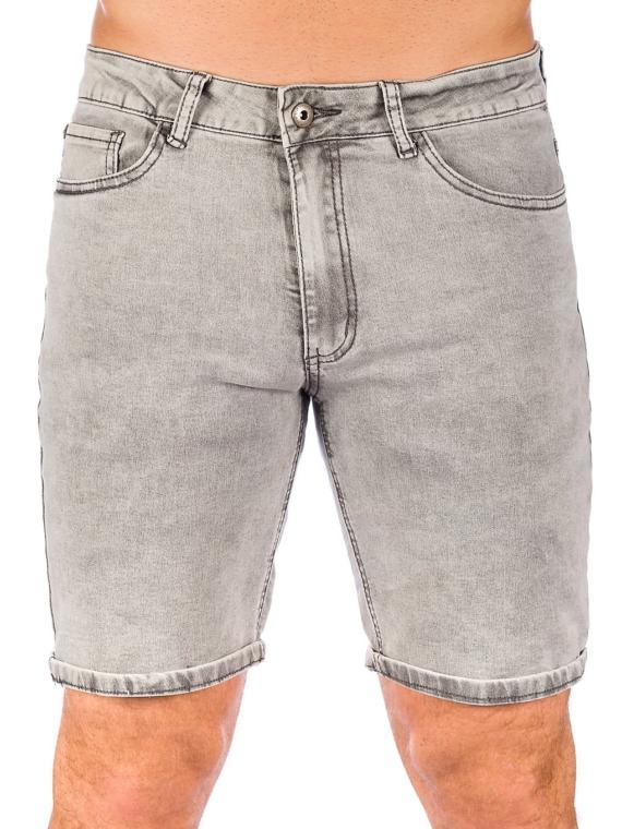 Iriedaily Slim Shot2 Denim korte broek grijs
