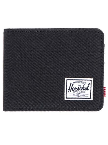 Herschel Roy + Coin RFID Portemonnee zwart
