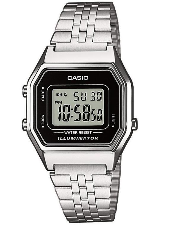 Casio LA680WEA-1EF grijs
