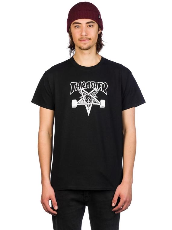 Thrasher Skate Goat T-Shirt zwart