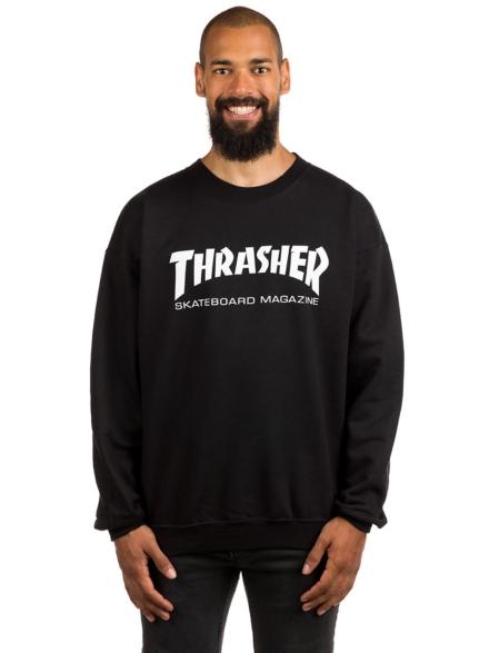 Thrasher Skate-Mag Crewneck Trui zwart