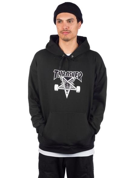 Thrasher Skate Goat Hoodie zwart