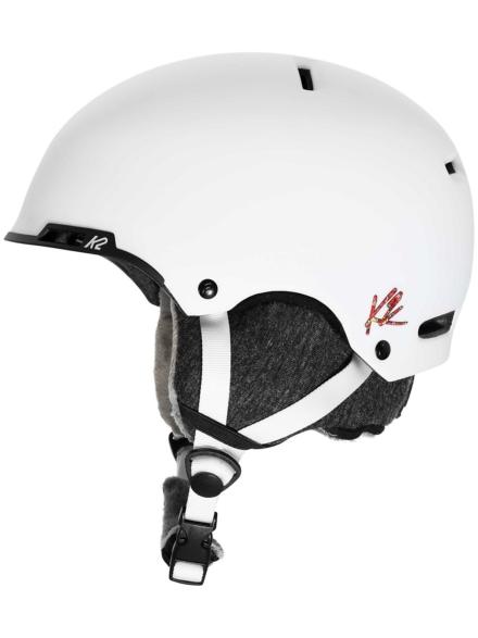K2 Meridian Skihelm wit