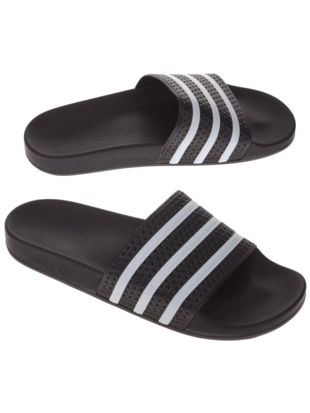 adidas Originals Adilette slippers zwart