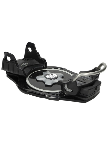 F2 Intec Titanium zwart Alpine Bindings zwart