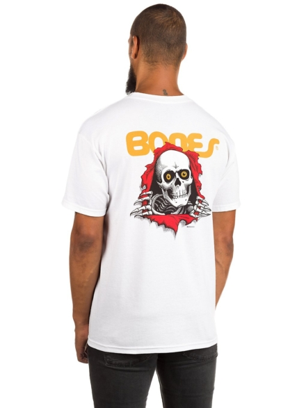 Powell Peralta Ripper T-Shirt wit