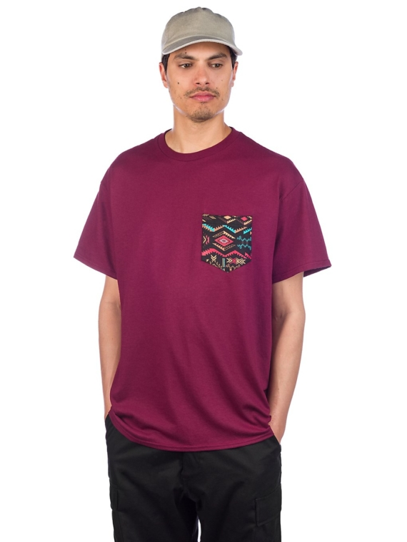 Empyre Crazy Pocket T-Shirt rood