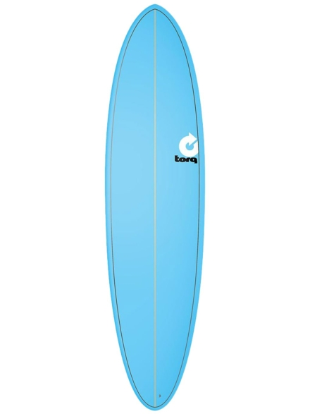 Torq Epoxy 7'2 Funboard Blue patroon