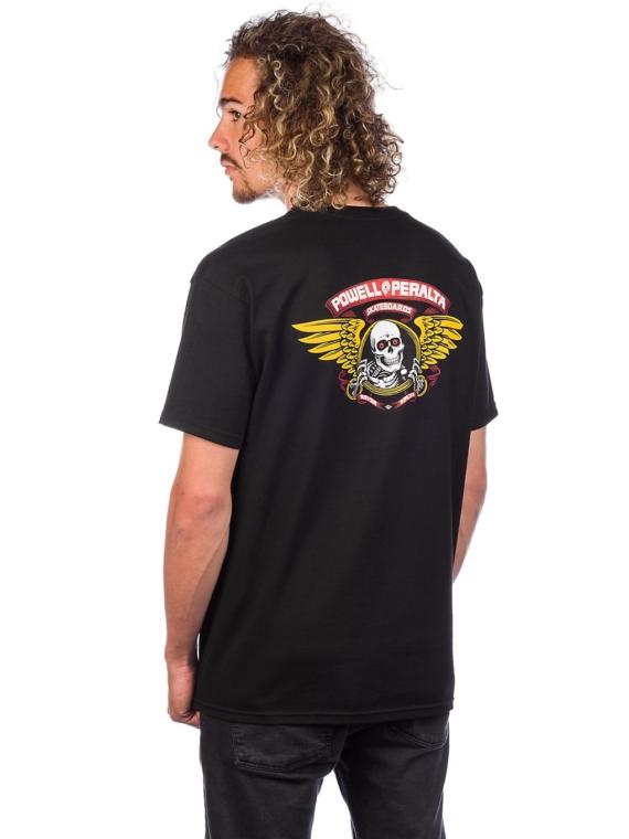 Powell Peralta Winged Ripper T-Shirt zwart