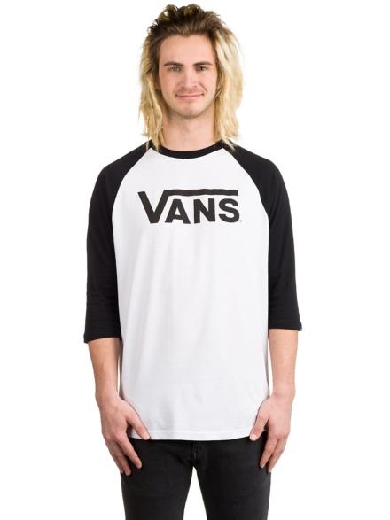 Vans Classic Long Sleeve T-Shirt wit