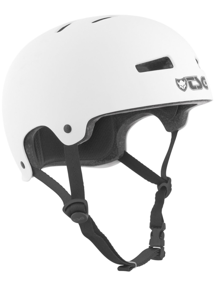 TSG Evolution Solid Color Skihelm wit