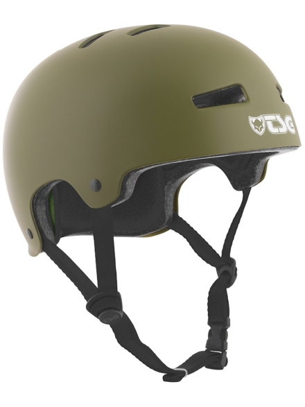 TSG Evolution Solid Color Skihelm groen