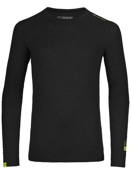Ortovox 105 Ultra Tech t-shirt met lange mouwen zwart
