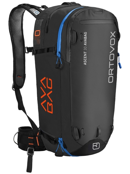Ortovox Ascent 30L Avabag Kit rugtas zwart