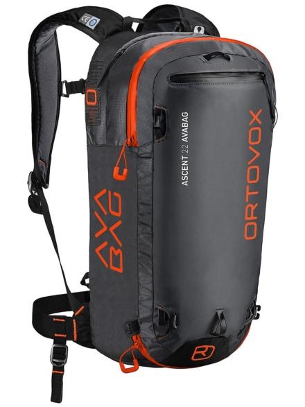 Ortovox Ascent 22 Avabag Kit zwart