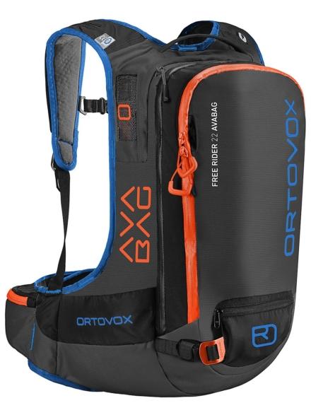 Ortovox Free Rider 22 Avabag Kit rugtas zwart