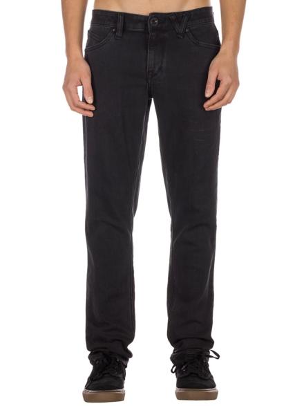 Volcom 2X4 Jeans zwart