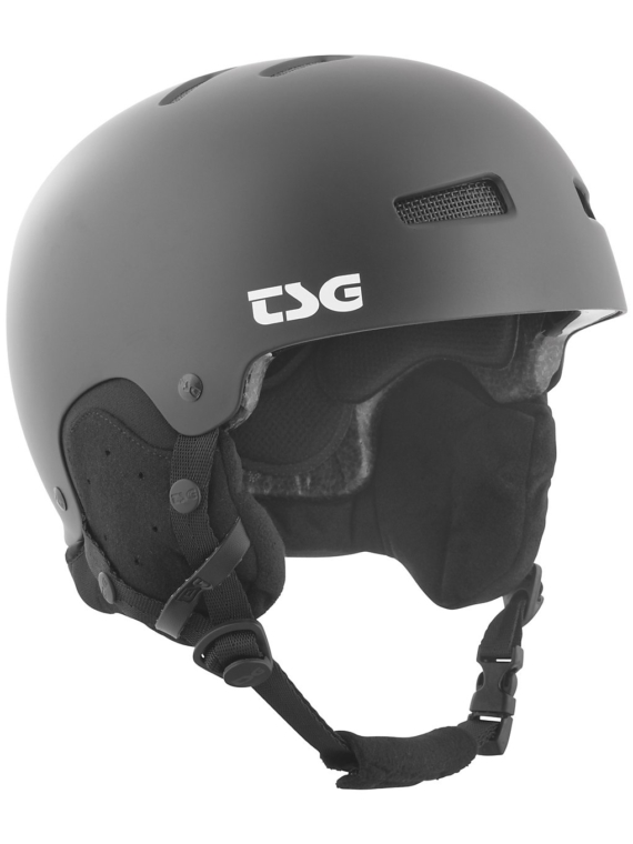 TSG Gravity Solid Color Skihelm zwart