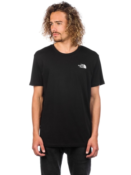 THE NORTH FACE Simple Dome T-Shirt zwart