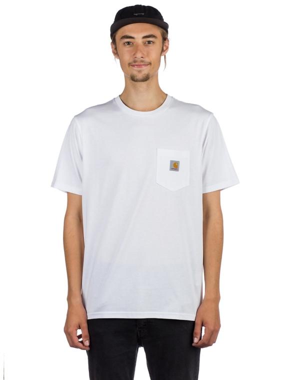 Carhartt WIP Pocket T-Shirt wit