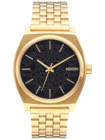 Nixon The Time Teller geel