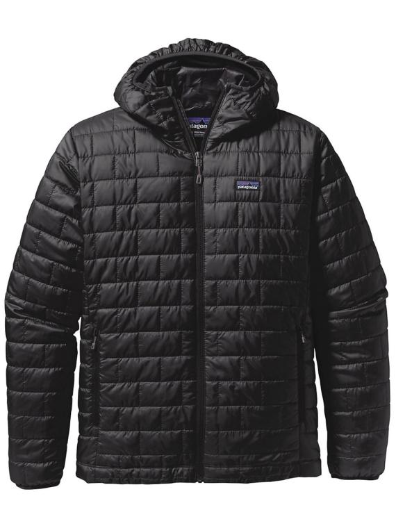 Patagonia Nano Puff Hooded Ski jas zwart