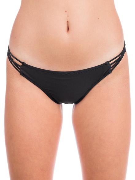 Volcom Simply Solid Full Bikini Bottom zwart
