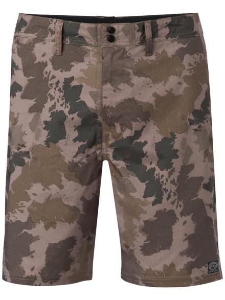 Animal Pilar korte broek camouflage