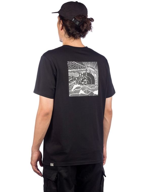 THE NORTH FACE Redbox Celebration T-Shirt zwart