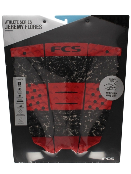 FCS Jeremy Flores Staple Traction Pad patroon