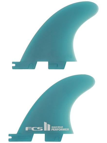 FCS 2 Perf Neo Glass M Quad Rear Fin patroon