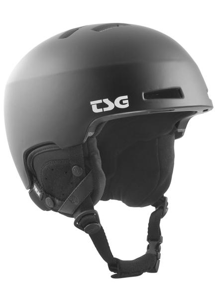 TSG Tweak Solid Color Skihelm zwart