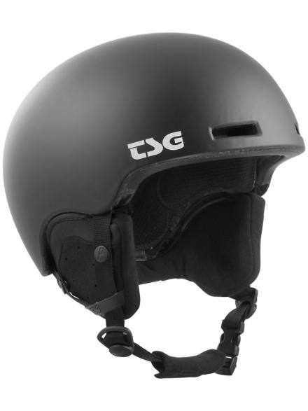TSG Fly Solid Color Skihelm zwart