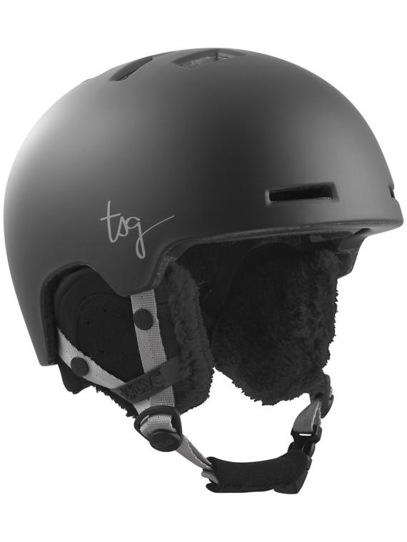 TSG Cosma Solid Color Skihelm zwart