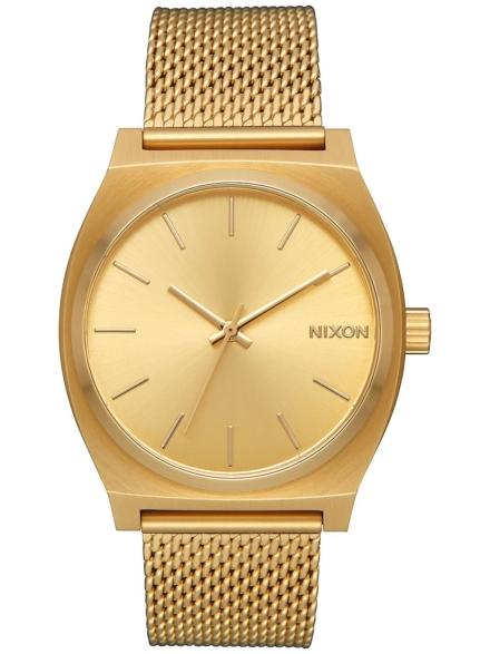 Nixon The Time Teller Milanese geel