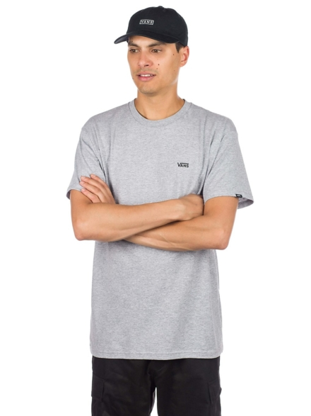Vans Left Chest Logo T-Shirt grijs