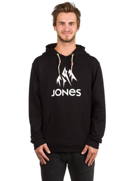 Jones Snowboards Truckee Hoodie zwart
