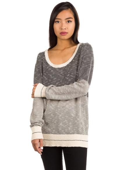 Iriedaily 2 Tone Biquet vest Pullover grijs
