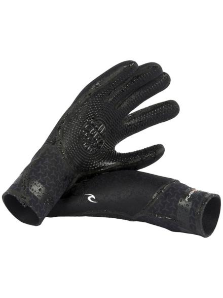 Rip Curl Flashbomb 3/2 5 Finger handschoenen zwart