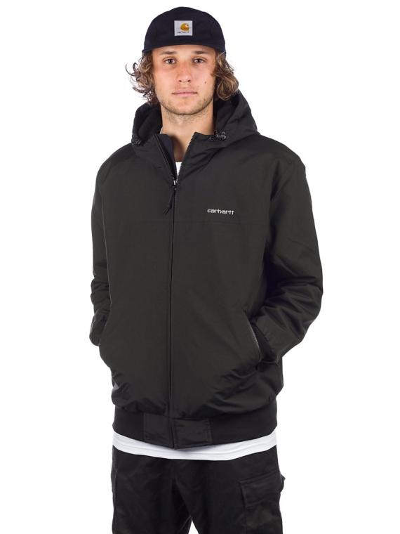 Carhartt WIP Hooded Sail Ski jas zwart