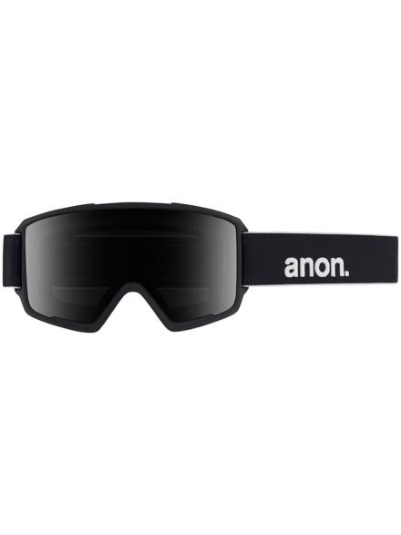 Anon M3 Polarized zwart (+Bonus Lens) zwart