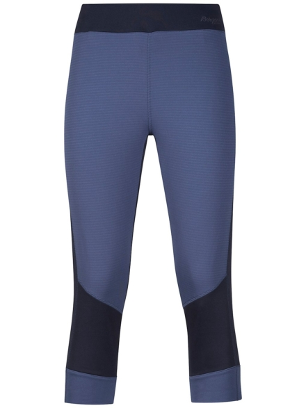 Bergans Roni 3/4 Tight Tech broek blauw