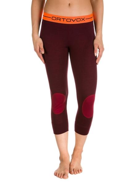 Ortovox Merino 185 Rock'n'Wool Short Tech broek rood