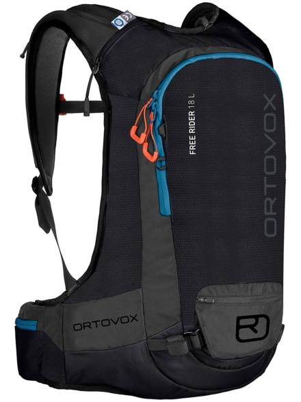 Ortovox Free Rider 18 L rugtas zwart