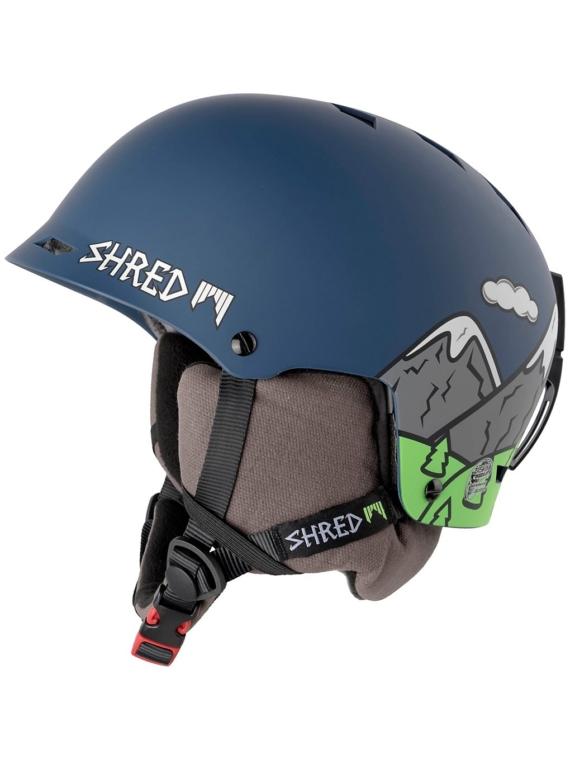 Shred Half Brain D-Lux Skihelm blauw