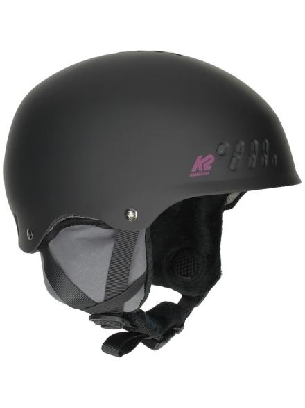 K2 Emphasis Skihelm zwart