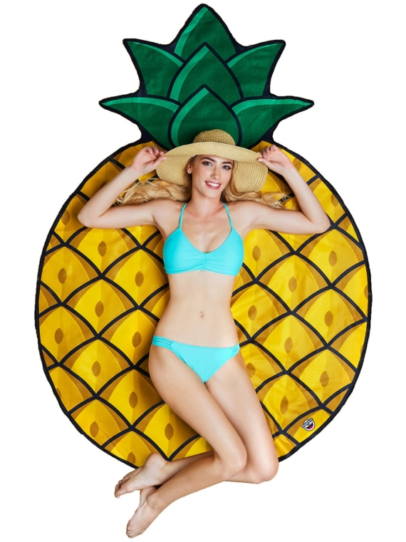 Big Mouth Toys Pineapple Beach Towel patroon